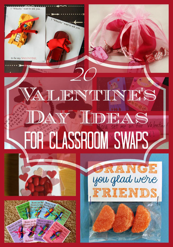 20 Valentine's Day Ideas for Classroom Gifts and More
