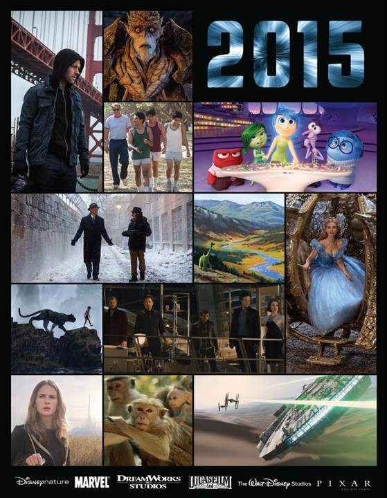 Walt Disney Worlds Movie Line Up 2015