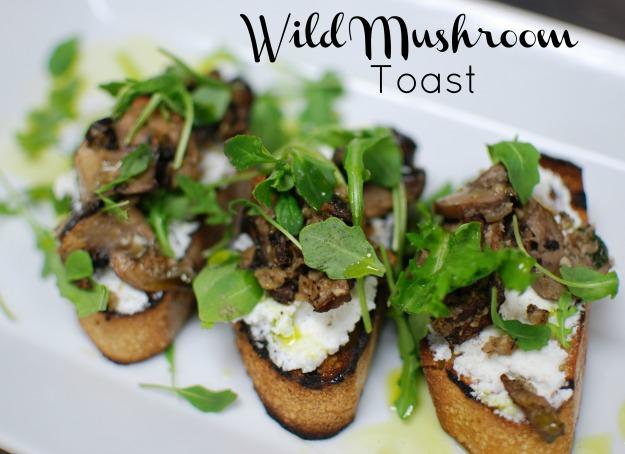 Wild Mushroom Toast Recipe