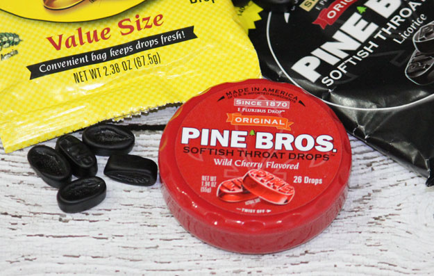 Pine Bros Throat Drops