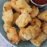 Baked Parmesan Chicken Nuggets Recipe