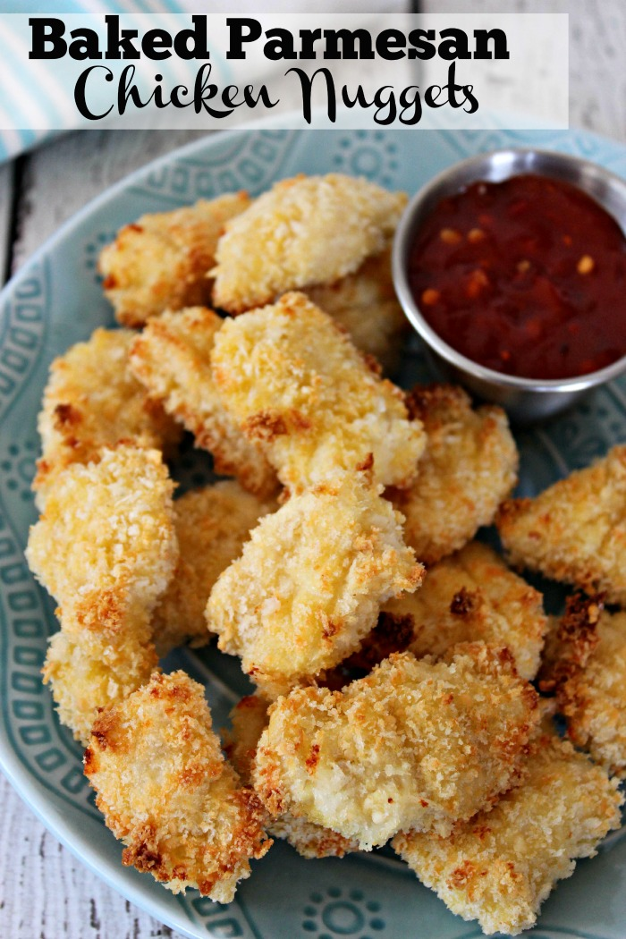 Baked Parmesan Chicken Nuggets Kid Friendly and Easy To Make Recipe