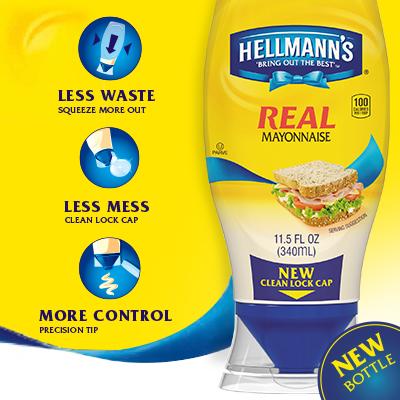 Hellmann's Mayonnaise Precision Tip