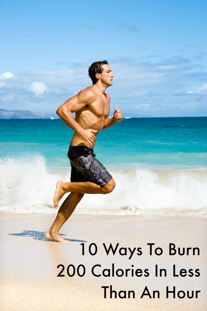 10 Ways To Burn 200 Calories In Less Than An Hour
