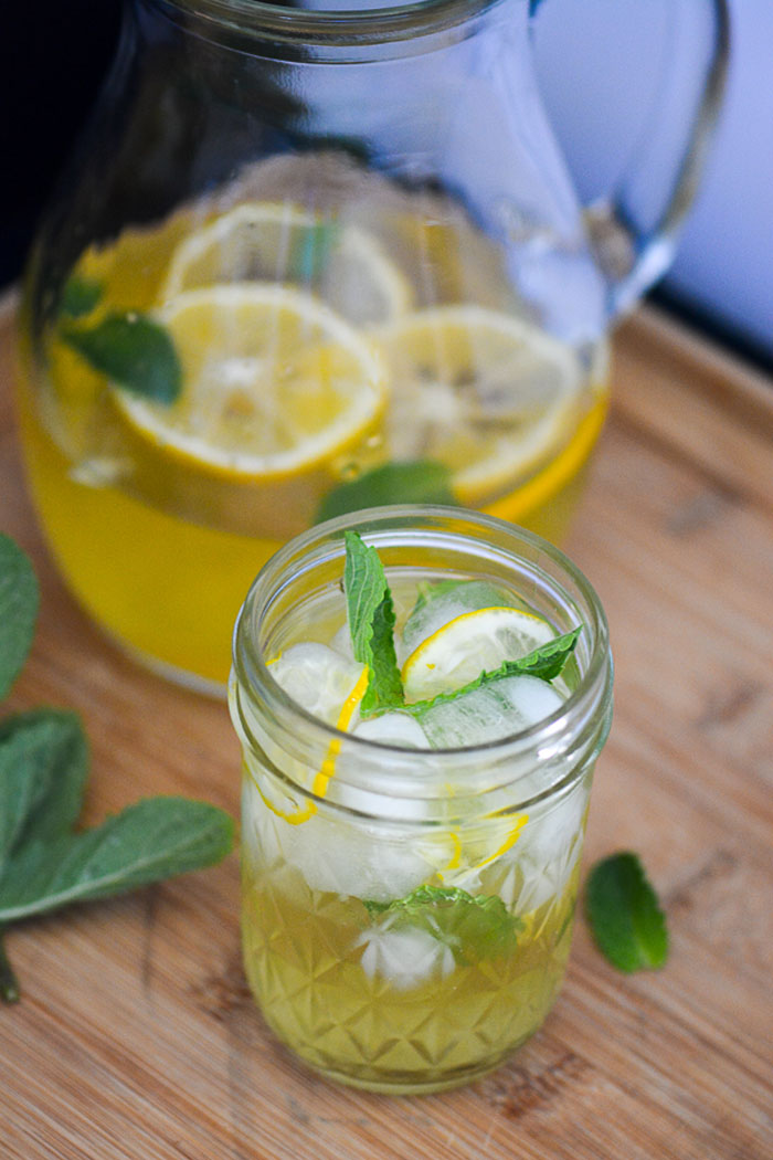 Meyer Lemon Agave Lemonade Recipe