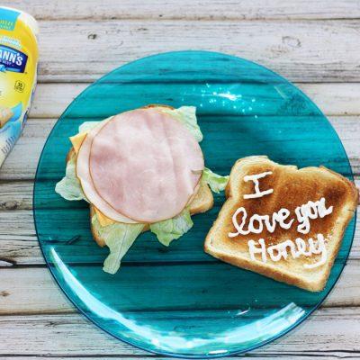 Sandwich Love Notes from Hellmann's