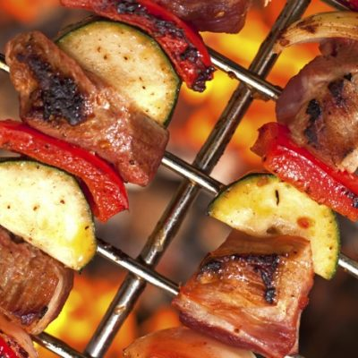 Grilled Boneless Ribs Skewers Recipe