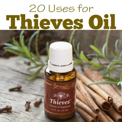 Essential Oils : 20 Uses for Thieves Oil