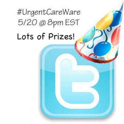Twitter Party 5/20 @ 8:00pm EST #UrgentCareAware
