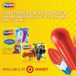 Be the Super Hero with Marvel Avenger Popsicle