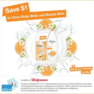Dove Coupon Go Fresh Revitalize Body Wash