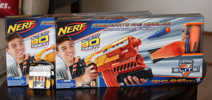 "Nothing says family fun like a friendly game of ""Nerf War"". Creeping  through the house, hiding behind doors, just waiting to jump out and  surprise your ..."