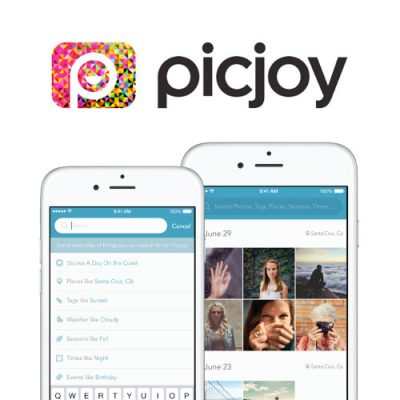 Picjoy Organizes Your Photos at a New Level