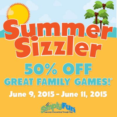 Simply Fun 50% Off Sale Starts Today