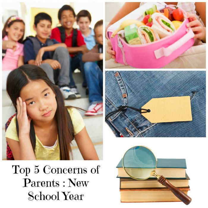 Top 5 Parent Concerns New School Year