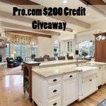 Pro.com Hire a Pro $200 Giveaway : (Ends 8/11)