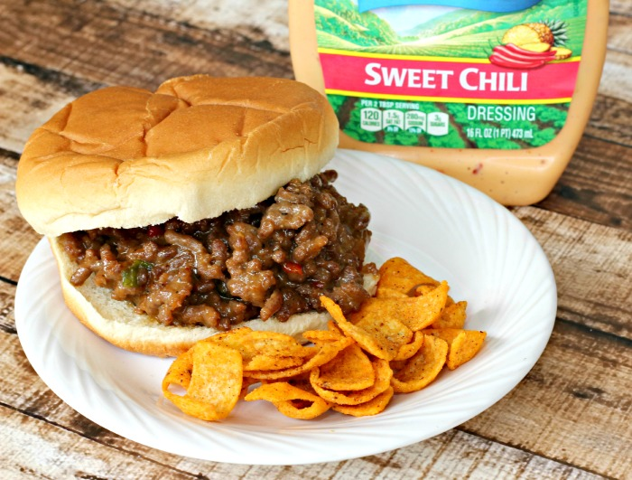 Sweet Chili Sloppy Joe Recipe