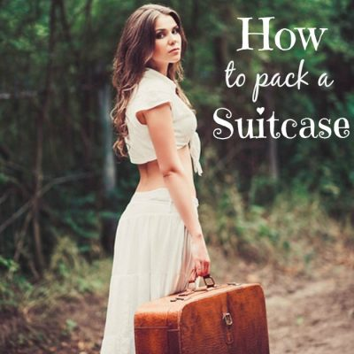 Tips Packing a Suitcase