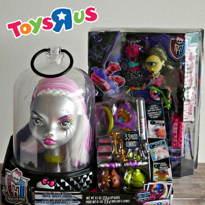 Monster High Toys : Monster high review create a head