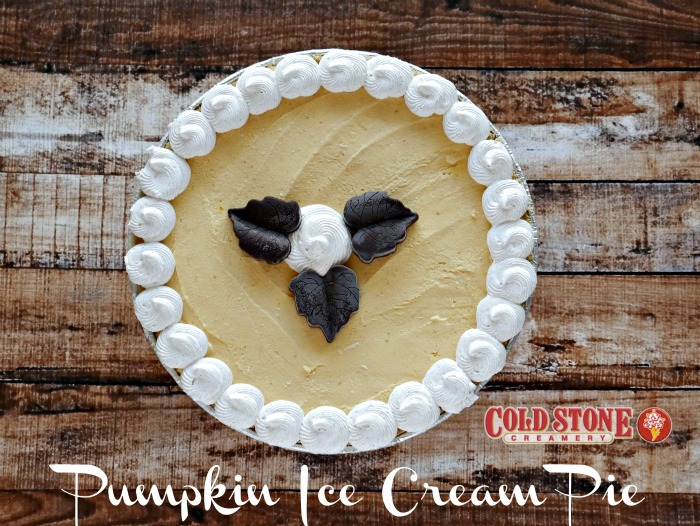 Pumpkin Ice Cream Pie Thanksgiving Dessert