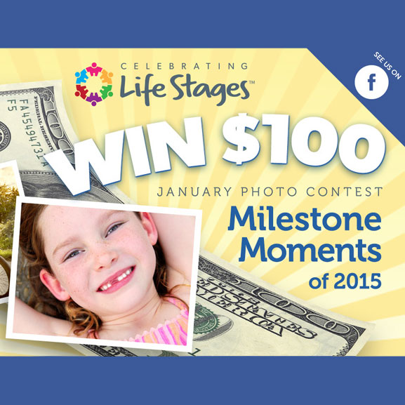 Design Your Own Swag Contest Ends Today: Milestone Moment Photo Contest Enter To Win $100