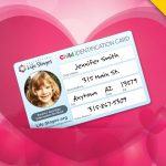 Free Child Identification Card from Life Stages