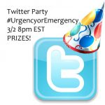 Twitter Party #UrgencyOrEmergency 3/2 8pm EST