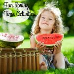 5 Fun Spring Time Activities To Enjoy With Your Children