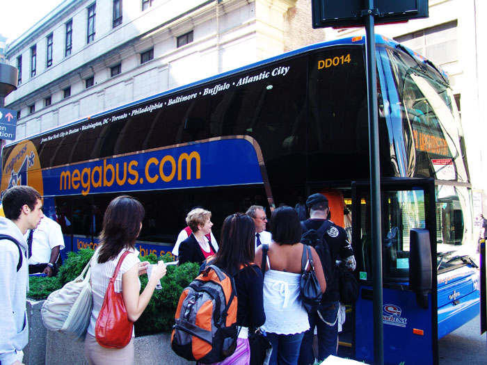 megabus.com DIstracted Driving Awarness Month