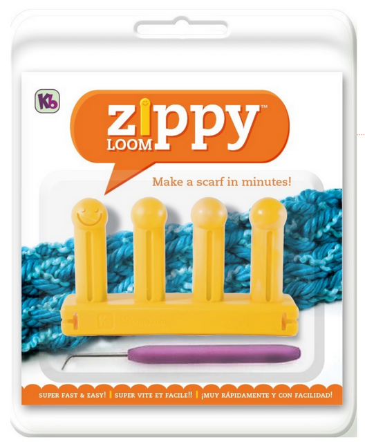 Learn How to Knit Zippy loom