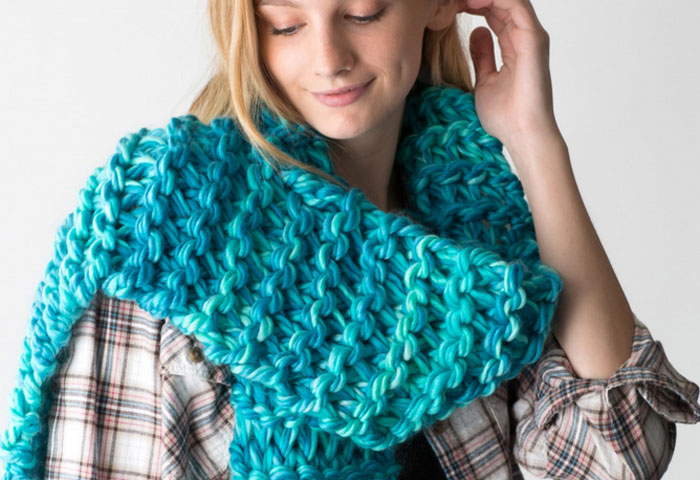 Learn How To Knit A Scarf It 15 Minutes With Zippy Loom