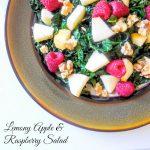 Lemony Apple and Raspberry Salad Recipe