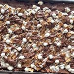 S'Mores Pizza Squares Recipe with Golden Grahams