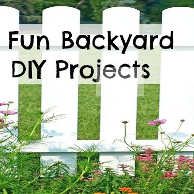 6 Fun Backyard DIY Projects For Fun in the Sun