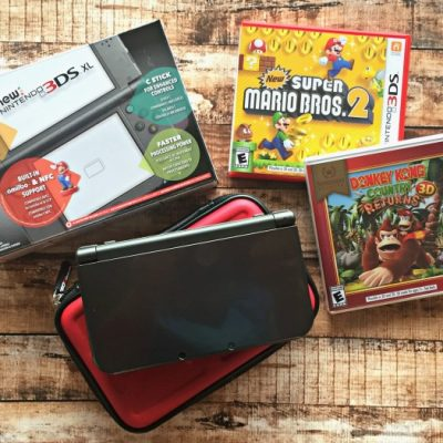 New Nintendo 3DS XL Gaming System