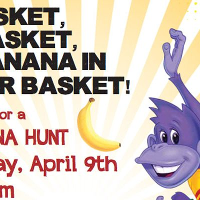 Monkey Joe's Hosts Banana Hunt