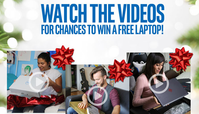 Win an Intel® Laptop for Your Loved One This Holiday