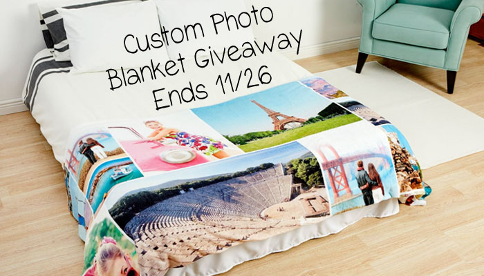 Comfort for Christmas with a Custom Photo Blanket Giveaway : Ends (11/26)