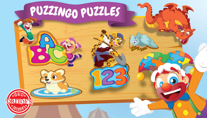 Puzzle App for Kids : Puzzingo Kids Puzzles