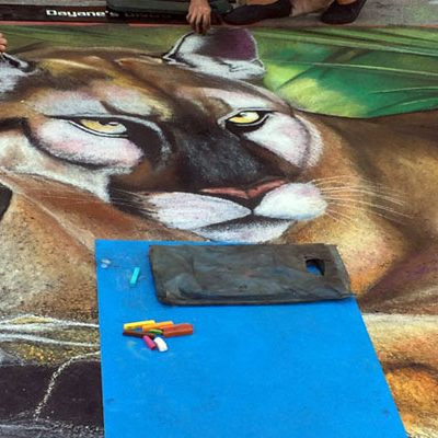Street Painting Festival in Lakeworth an Amazing Sight to See