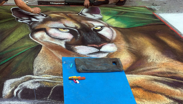 Street Painting Festival - South Flordia Lifestyle Blog