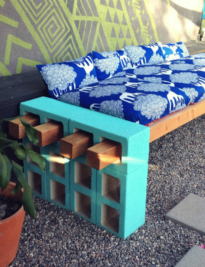 DIY Outdoor Seating by Lena Sekine