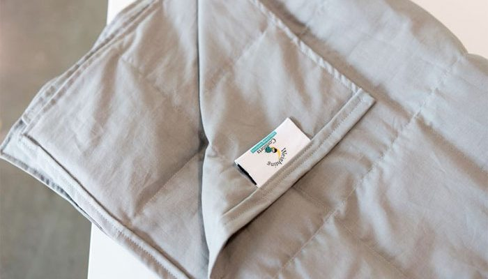 Weighted Blanket from Weighting Comforts Review