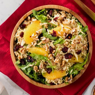 Cranberry-Orange Orzo Salad Recipe