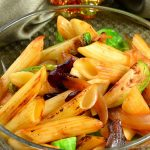 Brussels Sprouts, Dried Cranberries, Caramelized Onion & Sage Penne Recipe