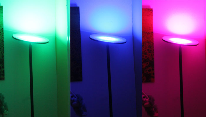 Bring Color and Light to Your Room With Brightech