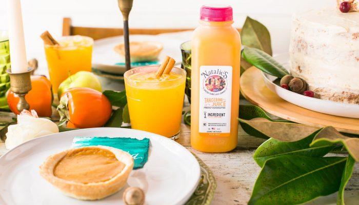 Holiday Drink Recipes : Tangerine Spice Soda