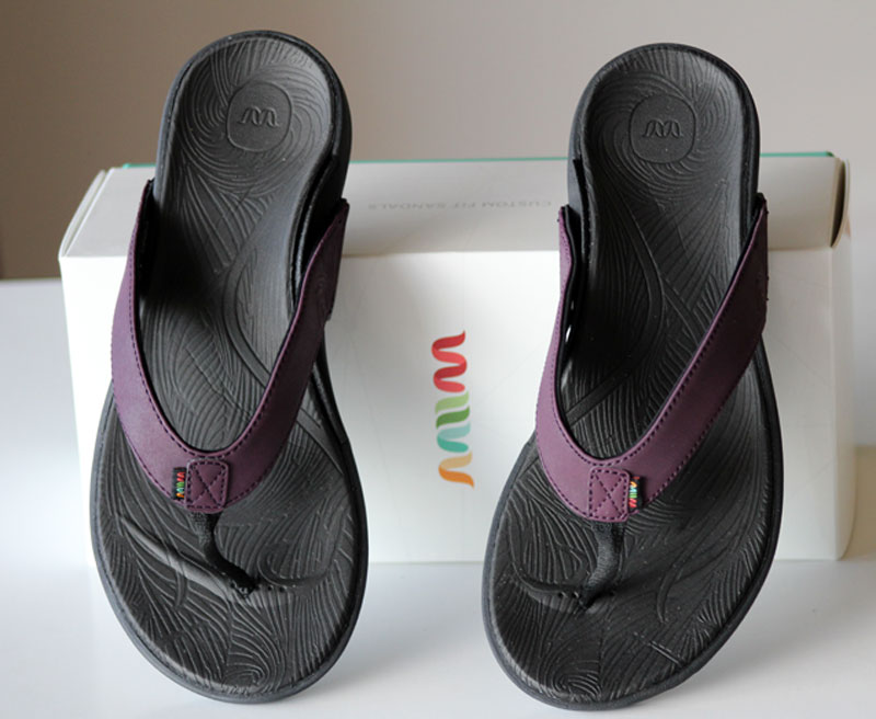 Wiivv Sandals review