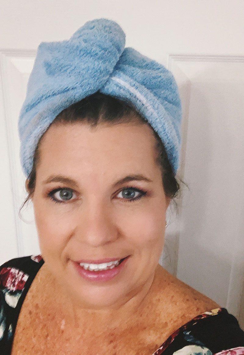 Rapid Drying Hair Towel