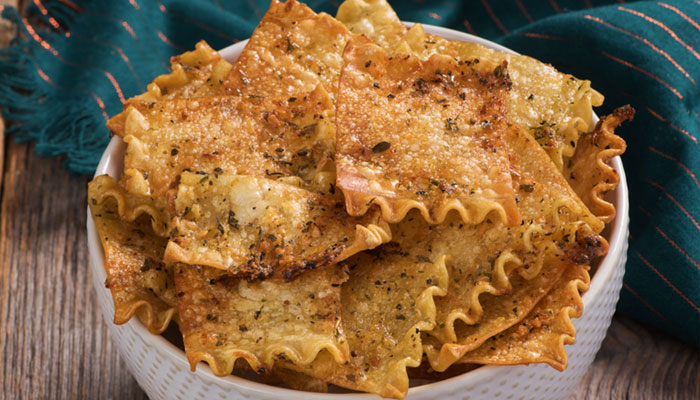 Herbed Lasagna Chips